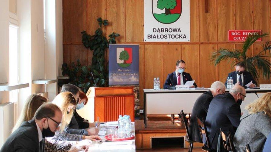 XXV Sesja Rady Miejskiej w Dąbrowie Białostockiej